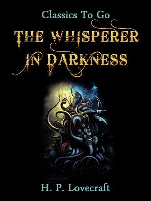 cover image of The Whisperer in Darkness