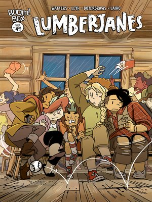 cover image of Lumberjanes, Issue 49