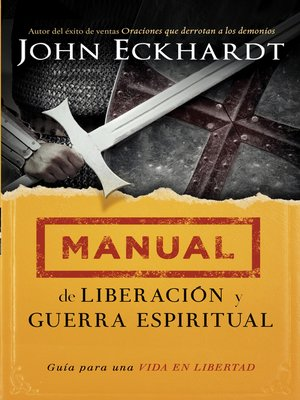 cover image of Manual de liberación y guerra espiritual