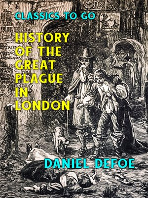 cover image of History of the Great Plague in London