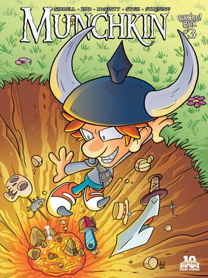 cover image of Munchkin (2015), Issue 3