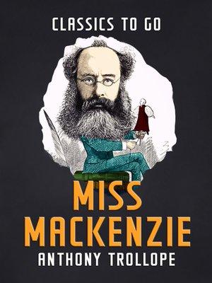cover image of Miss Mackenzie