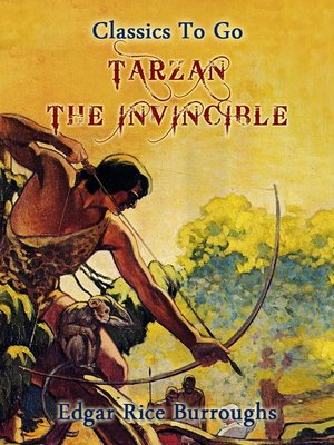 cover image of Tarzan the Invincible