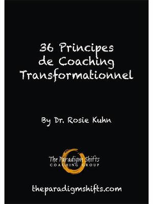 cover image of 36 principes de coaching transformationnel