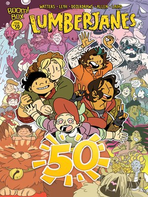 cover image of Lumberjanes, Issue 50