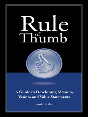cover image of A Guide to Developing Mission, Vision, and Value Statements