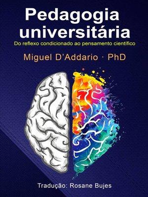 cover image of Pedagogia universitária