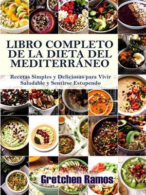 cover image of El libro de cocina completo de la dieta del Mediterráneo