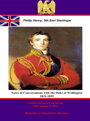 cover image of Notes of Conversations with the Duke of Wellington 1831-1851