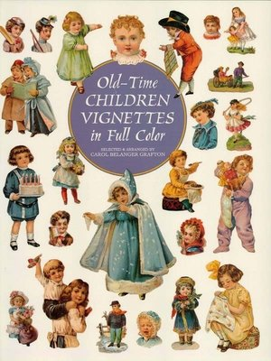 cover image of Old-Time Children Vignettes in Full Color