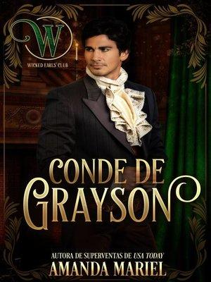 cover image of Conde de Grayson