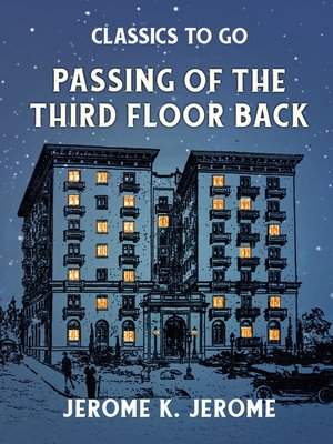 cover image of Passing of the Third Floor Back