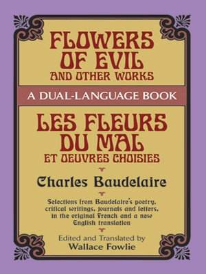 cover image of Flowers of Evil and Other Works