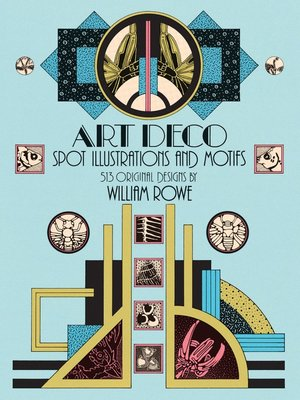 cover image of Art Deco Spot Illustrations and Motifs