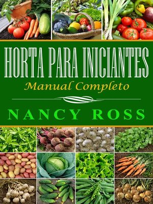 cover image of Horta para iniciantes--manual completo