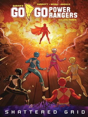 cover image of Saban's Go Go Power Rangers, Volume 3