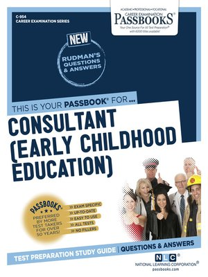 cover image of Consultant (Early Childhood Education)