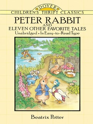 cover image of Peter Rabbit and Eleven Other Favorite Tales