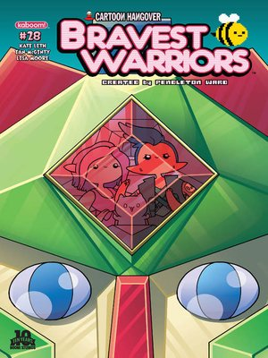 cover image of Bravest Warriors #28