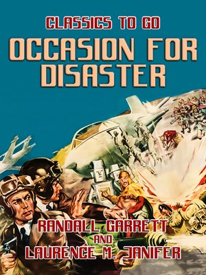 cover image of Occasion for Disaster