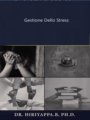 cover image of Gestione dello stress