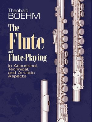 cover image of The Flute and Flute Playing