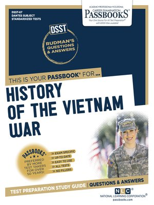 cover image of A HISTORY OF THE VIETNAM WAR