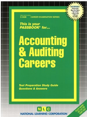 cover image of Accounting & Auditing Careers