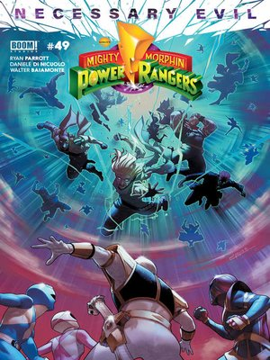 cover image of Mighty Morphin Power Rangers, Issue 49