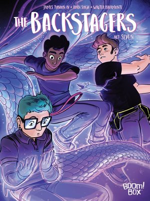 cover image of The Backstagers (2016), Issue 7