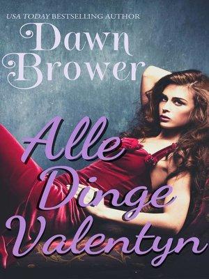 cover image of Alle Dinge Valentyn