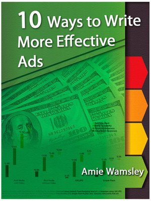 cover image of 10 Ways To Write More Effective Ads