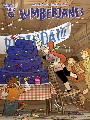 cover image of Lumberjanes, Issue 57