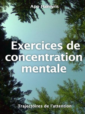 cover image of Exercices de concentration mentale