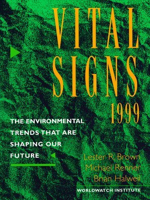 cover image of Vital Signs 1999
