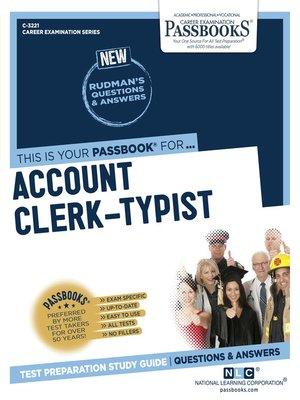 cover image of Account Clerk-Typist