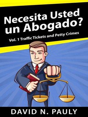cover image of Necesita Usted un Abogado?