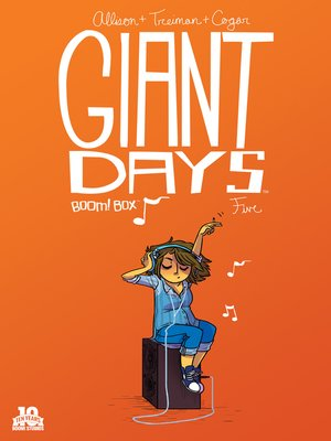 cover image of Giant Days (2015), Issue 5