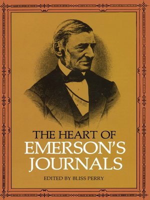 cover image of The Heart of Emerson's Journals