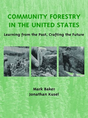 cover image of Community Forestry in the United States