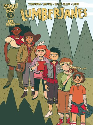 cover image of Lumberjanes (2014), Issue 17