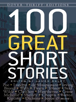 cover image of 100 Great Short Stories