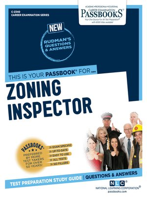 cover image of Zoning Inspector