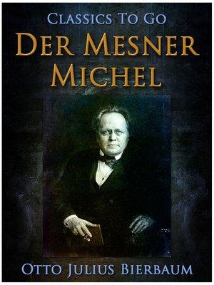 cover image of Der Mesner-Michel