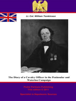 cover image of The Diary of a Cavalry Officer in the Peninsular and Waterloo Campaigns, 1809 - 1815