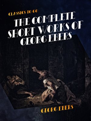 cover image of The Complete Short Works of Georg Ebers
