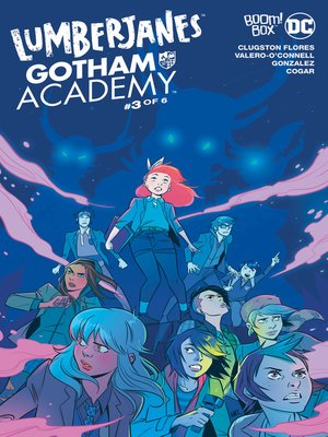 cover image of Lumberjanes/Gotham Academy (2016), Issue 3
