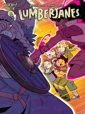 cover image of Lumberjanes (2014), Issue 68