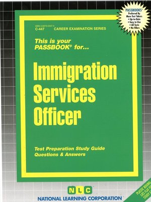 cover image of Immigration Services Officer
