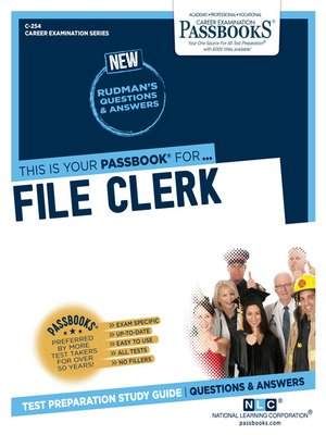 cover image of File Clerk